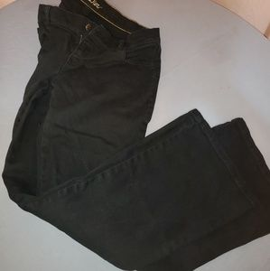 "☆ Old Navy ""the diva"" size 6 black jeans ☆"